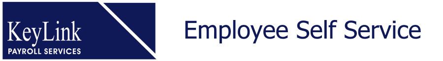 Login - Employee Self Service